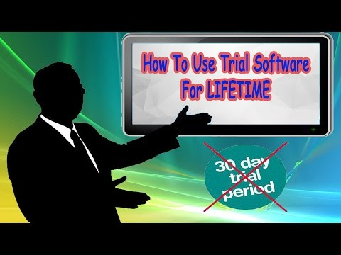 How to Make Any Trial Software Run for Unlimited Time