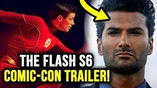 Season 6 Villain FIRST LOOK!! - The Flash Season 6 Trailer Breakdown