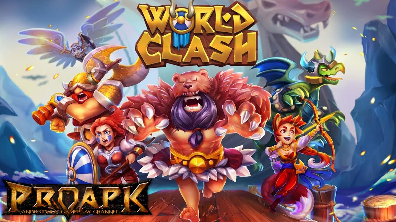 World Clash Gameplay Ios Android Youtube