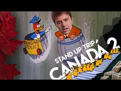 Fábio Rabin - Stand Up Trip Canadá 2 (Cataratas, Quebec, Montreal, Show em inglês etc...)