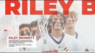 Riley Bennett '21 University of Vermont Commit  | Summer Lacrosse Highlights 2020