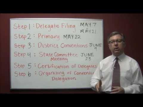 Arkansas Presidential Delegate Selection Process