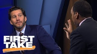 Stephen A. Smith goes off on Will Cain for Cowboys' postseason 'delusions'  | First Take | ESPN