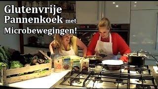 Glutenvrije Boekweit Pannenkoek met Champignons en Pesto