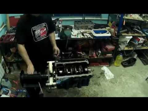 капитальный ремонт двигателя ваз . часть 2. сборка мотора