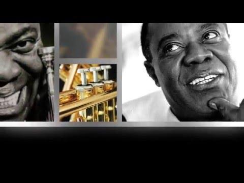 Louis Armstrong - La vie en rose (with lyrics)