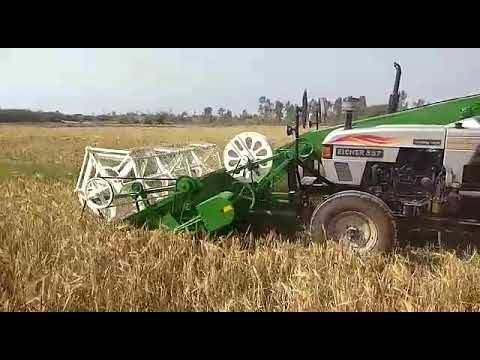 Eicher 551 With Mini Harvester