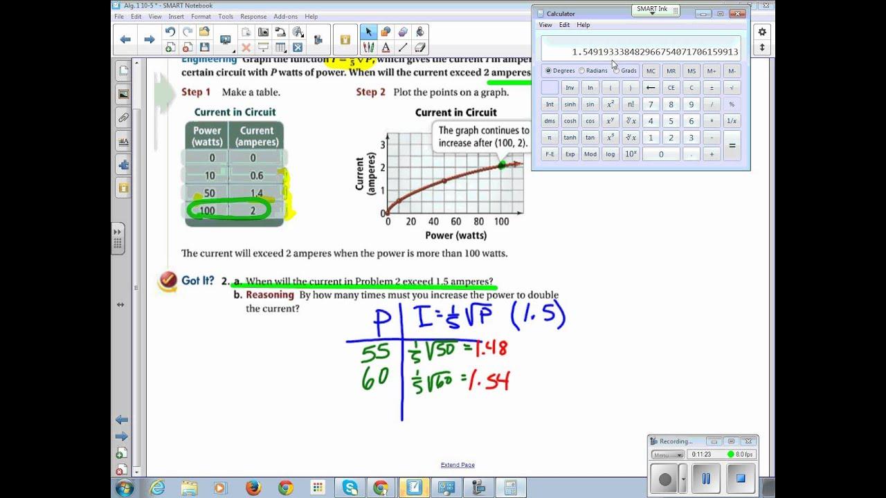 Pearson Education Algebra 1 Chapter 10