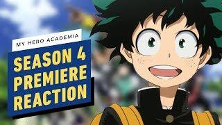 My Hero Academia's Season 4 Premiere Is Dark and Hilarious