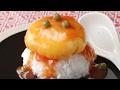 トロトロ卵があふれ出す!くす玉かに玉🎊 の動画、YouTube動画。