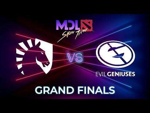 Team Liquid vs Evil Geniuses Game 1 - MDL Macau 2019: GRAND FINALS