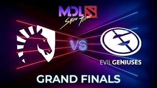 Team Liquid vs Evil Geniuses Game 1 - MDL Macau 2019: GRAND FINALS