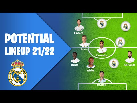 Real Madrid's Potential Lineup 2021/22 💥