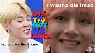 BTS TRY NOT TO LAUGH 2019 BEST FUNNY MOMENTS