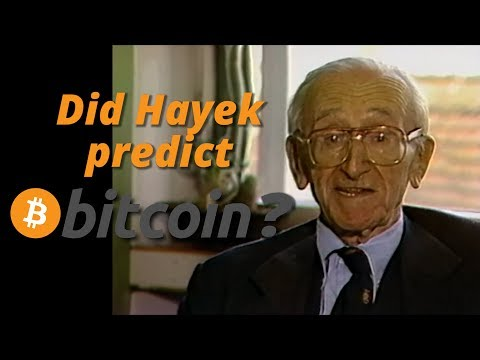 Did Hayek predict bitcoin?