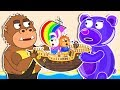 Lion Family 💱 Sea Adventures Exchange | Cartoon for Babies