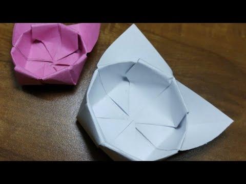 Origami Cat Box - Diy - DIY CRAFT ! Best origami cat box