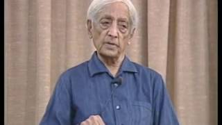 On the demands of society and a life of total freedom | J. Krishnamurti