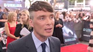 Cillian Murphy interview at the Dunkirk world premiere
