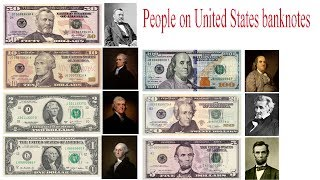 People on United States banknotes
