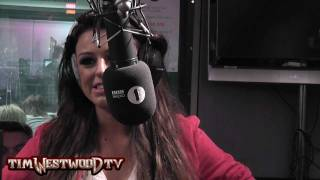 Westwood - Cher Lloyd singing live *EXCLUSIVE*