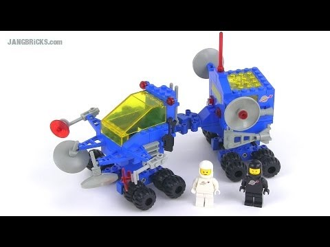 LEGO Classic Space 6928 Uranium Search Vehicle from 1984!