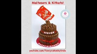 How To Make A Quick & Easy Maltesers Chocolate Cake Tutorial