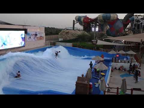 Best Riders on the FlowRider FlowBarrel Ten Double at Yas Waterworld Abu Dhabi Dubai