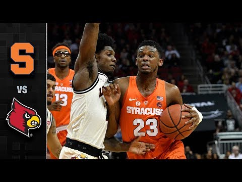 Syracuse vs. Louisville Basketball Highlights (2017-18)