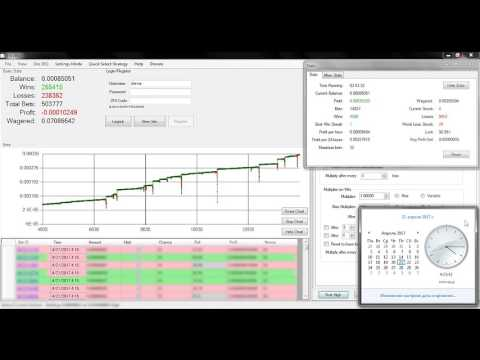 DiceBot Bitsler Strategy#3 30k+ Bets 8+ Hours Run 100% Win No Lose