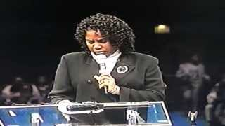 JUANITA BYNUM AT FAITH DOME TO HONOR BISHOP BLAKE AND FRED PRICE