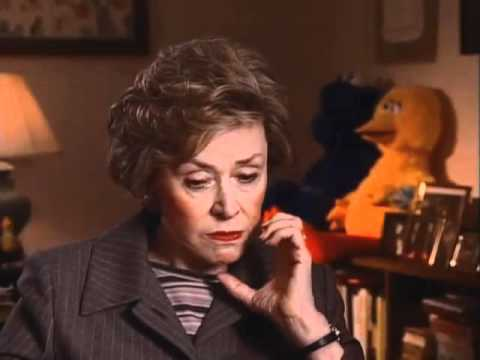 Joan Ganz Cooney discusses the lack of female puppets on early Sesame Street - EMMYTVLEGENDS
