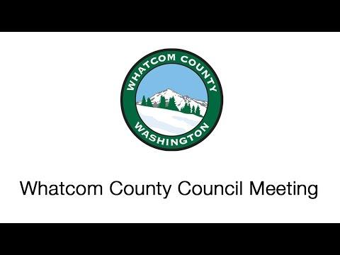 Whatcom County Council Meeting November 22, 2016