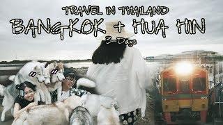 『Mj TRAVEL』Thailand Bangkok & hua hin 泰国曼谷与华欣之旅