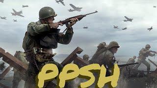 Call Of Duty World War 2 PPSH gameplay
