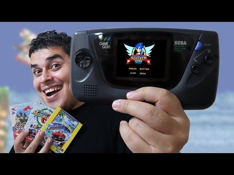 GAME GEAR - Unboxing do (nada) Portátil da Sega