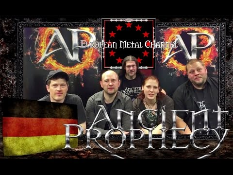 "Ancient Prophecy (Christian Metal) Lyric-Video♫ on ""European Metal Channel"""