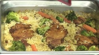 recipe for chicken with rice cheese vegetables vegetable dishes
