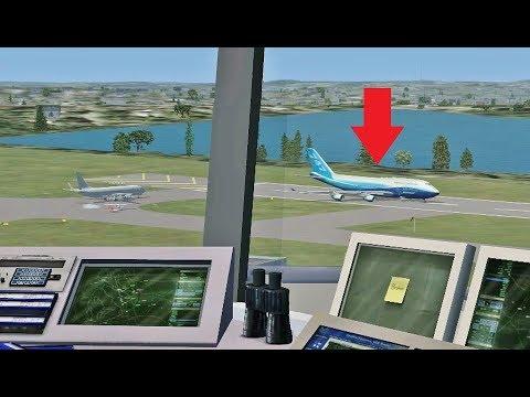 Air Traffic Con-TROLLING in Flight Simulator X (Boston Int