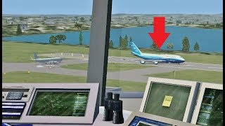 Air Traffic Con-TROLLING in Flight Simulator X (Boston Int'l Airport)