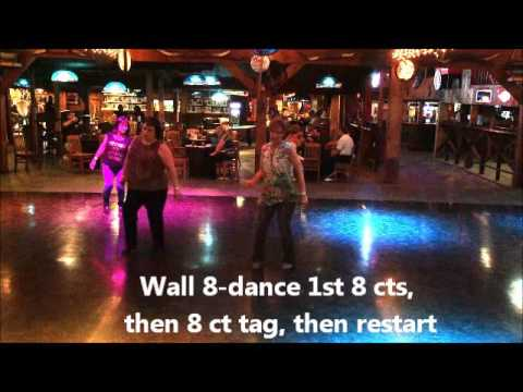 Somethin' I'm Good At line dance demo 4 22 17