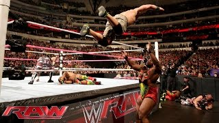 John Cena & The Dudley Boyz vs. The New Day: Raw, October 19, 2015