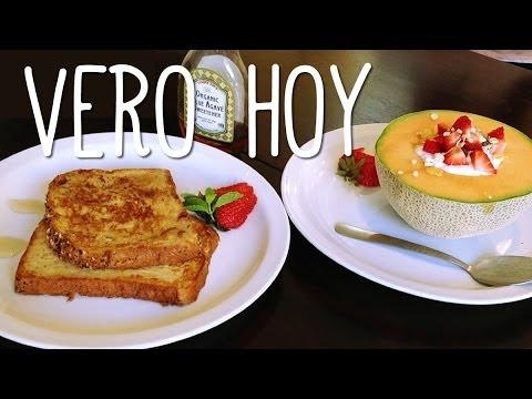 Hoy Dos Recetas de Desayuno - Rapido y Facil - YouTube