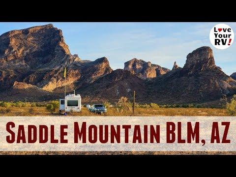 Saddle Mountain BLM Dispersed Camping Near Tonopah AZ