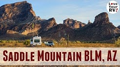 Saddle Mountain BLM Dispersed Camping Near Tonopah AZ