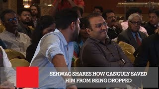Sehwag Shares How Ganguly Saved Him From Being Dropped