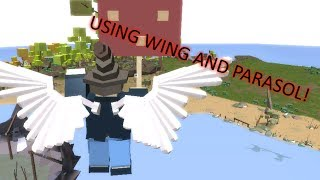 Using Wing and Parasol to travel to Matumada | Fantastic Frontier | Roblox