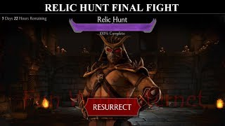 Relic Hunt Final Fight Mortal Kombat X Mobile Update 1.15