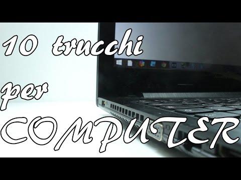 10 TRUCCHI PER IL COMPUTER
