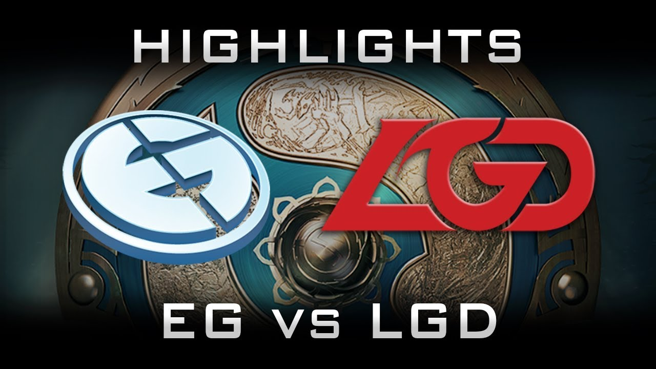 Eg Vs Lgd Ti Highlights The International